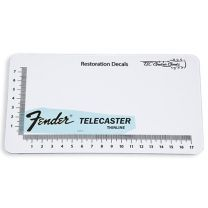 Fender Telecaster Thinline Outline - Goud - Restauratie Decal