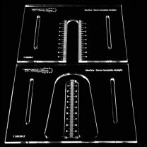 Bridge pin template - Luthier tools - TLC Guitar Goods