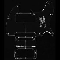 '60s Tele pickguard routing template - 3 piece set
