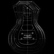 Les Paul carving template - Luthier tools - TLC Guitar Goods