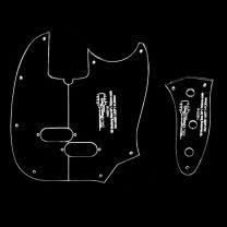 '60s Mustang Bass slagplaat en control plate frees template