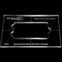 Frees template Seymour Duncan SMB-4x Music Man 4 string Bas