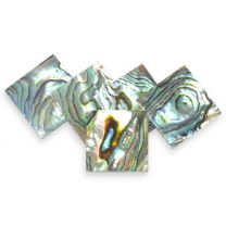 Abalone shell blank 20x20x1,5mm