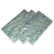Abalone shell fineer 119x140x1,5mm