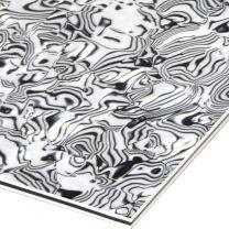 Zebra 3-ply slagplaat blank 210x290x2.2 mm
