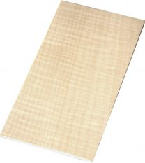 Kopfineer flamed maple 110x200x5mm