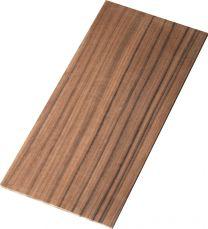 Kopfineer rosewood 100x210x5mm