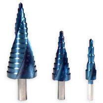 Trappenboor hss met nano titanium coating set van 3