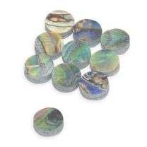 Dot 5mm Abalone green