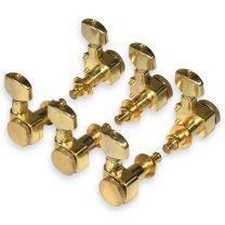 Locking guitar tuners 3L 3R vintage gold
