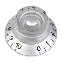 Bell knop zilver