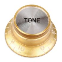 Bell knob tone gold-silver