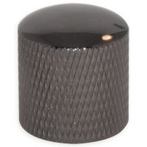Dome knob hexagonal screw cosmo-black