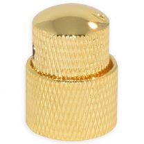 Dual knop goud
