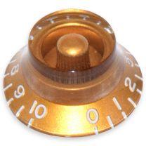 Bell knop Inch maat goud