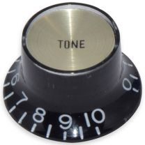 Bell knob tone Inch size black-gold