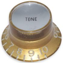 Bell knob tone Inch size gold-silver