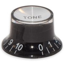 Bell knobs tone black-silver
