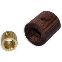 Knob insert for turning own knobs - inch size