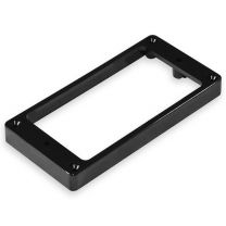 Mounting ring bridge flat non-slanted black