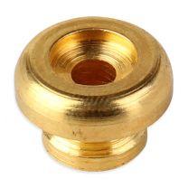 Strap pin paddenstoel goud