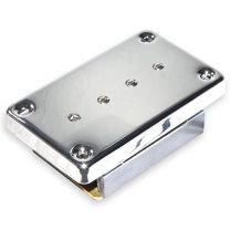 Artec mudbucker bass bridge chrome