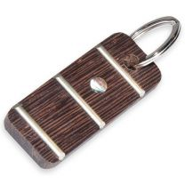 Fretboard keychain wengé