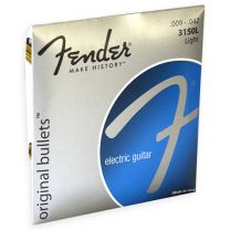 Fender original bullets nickel roundwound strings 009-042