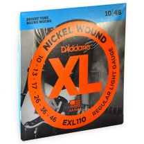 D'Addario XL nickel roundwound snaren regular light 010-046