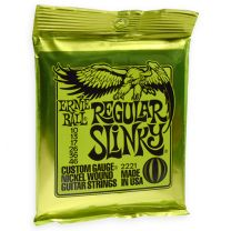 Ernie Ball nickel roundwound strings regular slinky 010-046
