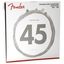 Fender stainless 9050s flatwound bass strings 045-100