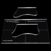 Routing template own design 150x100mm