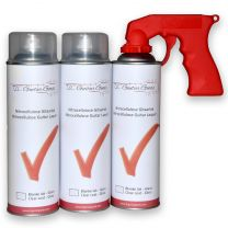 Nitro Clearcoat gloss 3x500ml + Handle