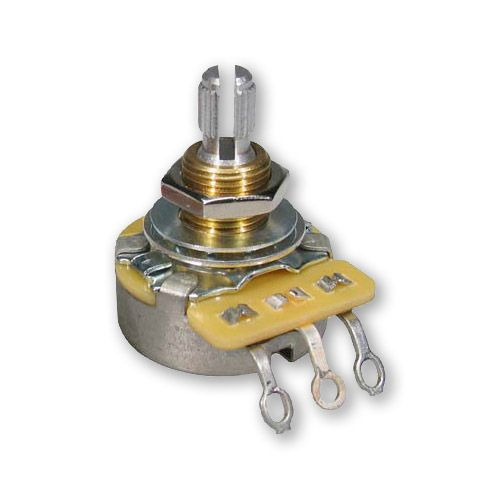 "CTS 250K Mini Pot Potentiometer Split Shaft 3//8/"" Shaft Audio Guitar Part 3 PACK!"
