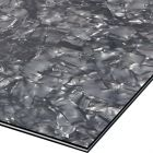 Zwart pearloid  3-ply slagplaat blank 210x290x2.2 mm