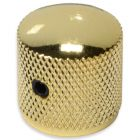 Dome knob with screw gold
