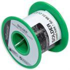 Soldeer Tin 99,3-0,7 koper met hars kern 1mm 100g