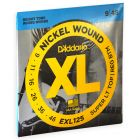 D'Addario XL nickel roundwound super light top heavy bottom 009-046