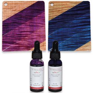 suStain kleur set - Purple - Blue burst 2st